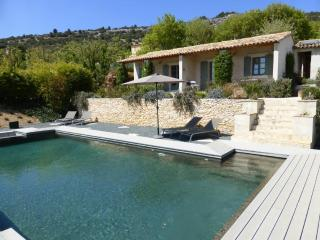 One bedroom cottage with pool & views of  Luberon