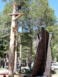 Kirkwood also has a climbing wall and zip line
