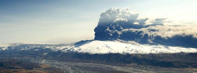 Mount Eyjafjallajökull in action – 50 min. drive