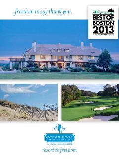 Ocean Edge - Best Resort on Cape Cod - 2013 - Boston Magazine
