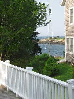 Kitchen View of Grimes Cove