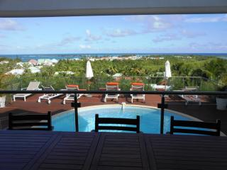 SOUALIGA...at Green Cay Villas... lovely views, fresh breezes, comfortable villa overlooking beautiful Orient Bay, St. Maarten