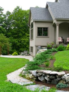 STONE WALKWAY TO YOUR PRIVATE ENTRANCE