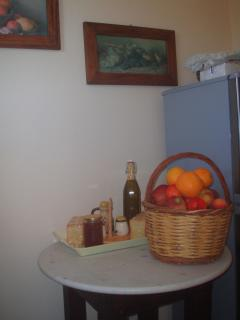 A WELCOME BASKET