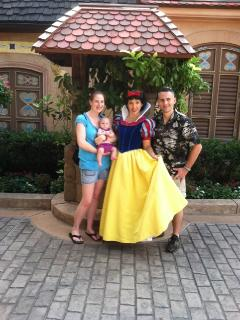 Snow White with Wendy, Keith and Molly