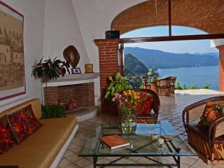 Living Room, ocean view