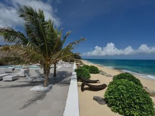 LA PERLA PALAIS...expansive luxury on beautiful Baie Rouge beach, part of, St. Maarten/St. Martin