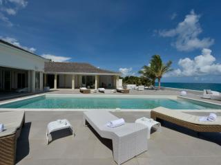 LA PERLA PALAIS...expansive luxury on beautiful Baie Rouge beach, part of, St. Maarten