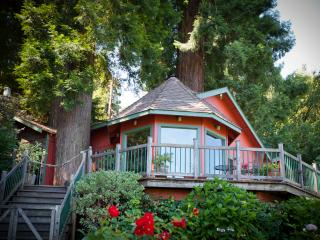 Redwood Tree House on the River, Healdsburg