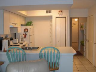 View of Kitchen & Bunk Beds