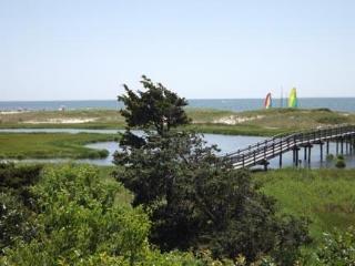 View of Marsh and Bridge to Ridgevale Beach from Deck