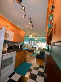 This Gourmet Kitchen Really Has It ALL! Even an Espresso Machine and Water Filtration System...