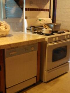 Kitchen Stove and Dishwasher