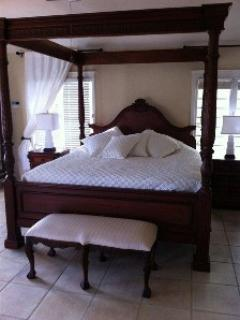 Master bedroom at Paradise Point, St. Croix