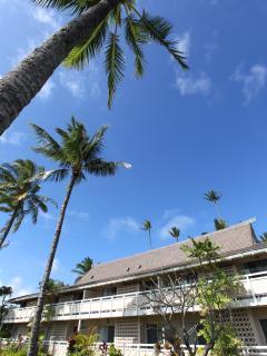 Plantation Hawaiian style beach front