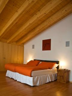 Secret Alps master bedroom