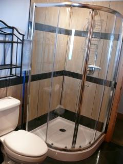 main floor shower