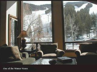 Ski-in, Ski-out condo located at the base of Baldy