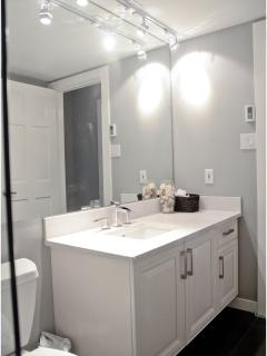 Renovated upstairs bathroom
