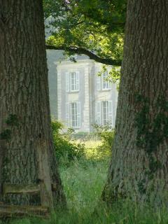 View at Chateau La Mothaye