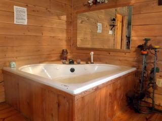 jacuzzi for two - romantic TN cabin rental