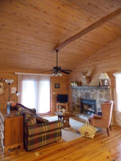 secluded cabin comfort near Monterey, Crossville and Cookeville, TN