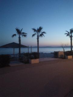 beach Trstenik in the night - 350m from apartment