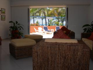 Walk out into your private terrace to sun bathe or step out on the beach.