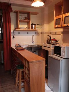 kitchenette Tauro room
