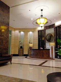 Reception area at Main Lobby