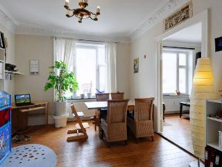 Lovely bright Copenhagen apartment near lovely parks, Copenhague