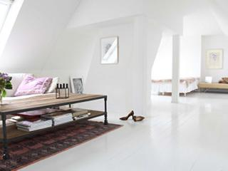 Beautiful attic Copenhagen apartment at Christianshavn
