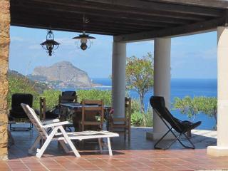 Villa with spectacular sea views, Cefalu