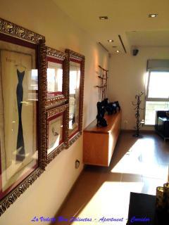 La Vedette Blue Apartment Salinetas Gran Canaria Door