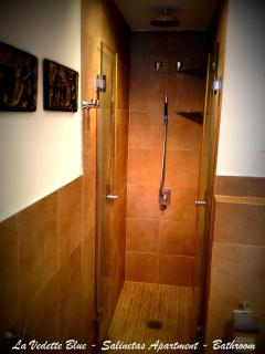 La Vedette Blue Apartment Salinetas Gran Canaria Bathroom