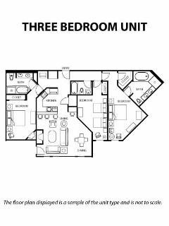 Floorplan - 3br