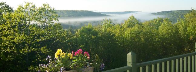 front deck mist above the Muddy river