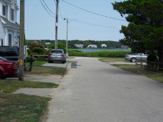 View of Great bay from the street...short walk to a wonderful and safe bay for kids to play..