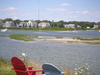 View towards cottage and Great Bay from ocean side