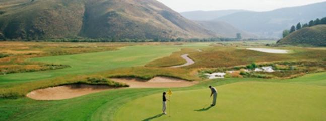 Golfing at Granby Ranch