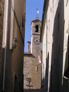 The bell tower of Bibbona