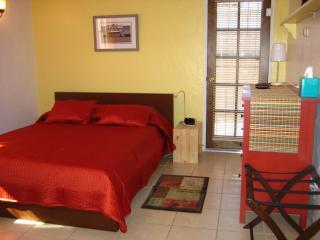 Pine dresser and platform bed