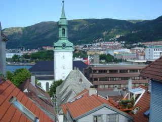 Top floor apartment  w/roof terrace Bergen city