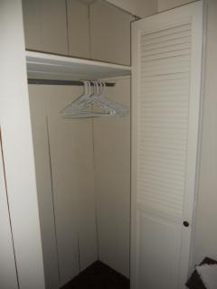 Bedroom closet, 1 of 2