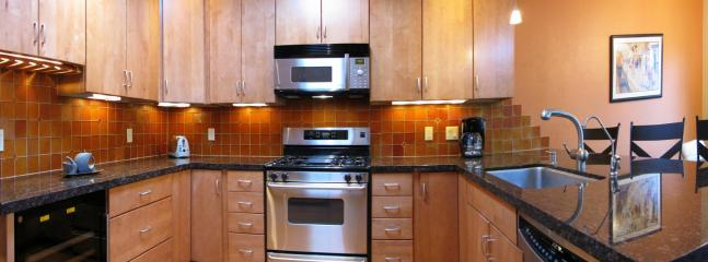 Tucson Paradise fully stocked kitchen for you to enjoy short or long term