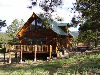 Mountain Log Home Near Rocky Mountain National Prk, Estes Park