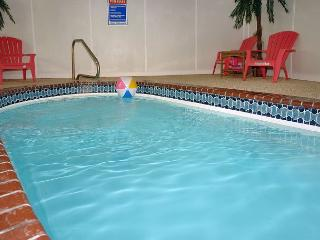 Pigeon Forge Private Indoor Swimming Pool Cabin SKINNY DIPPIN'  261