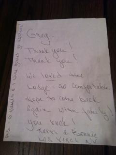 Great Handwritten Review!