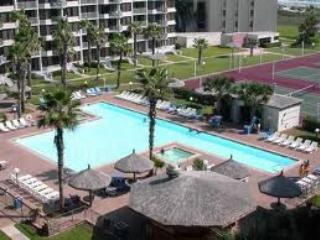 The large T shaped Pool closest to your unit.