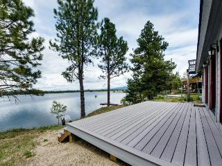 Private dock, beach access, lakefront getaway